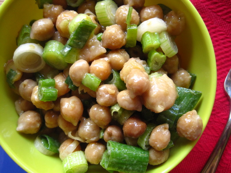 Lemony Chickpea Summer Salad