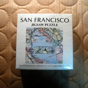 A Little San Francisco Map