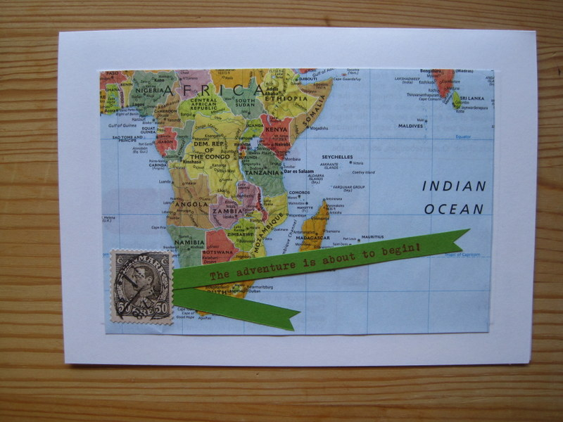 Map-Themed Baby Shower Invitations