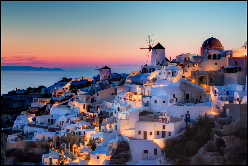 Santorini by Pedro Szekely, Creative Commons and Share Alike License